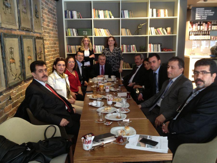 Derneğimiz iş teftiş kurulu müfettişleri ile ramada otelde toplandı.